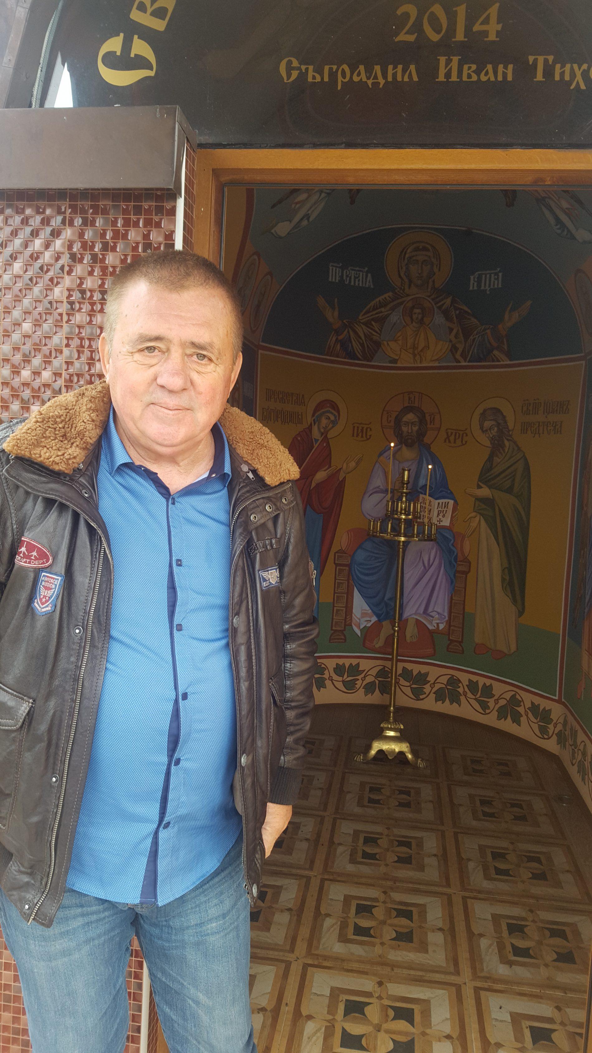 БИЗНЕСМЕНЪТ ИВАН ТИХОВ КУПИ ИГРИЩЕТО ЗА ГОЛФ КРАЙ СЛИВЕН